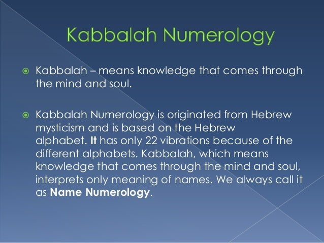 Graphology and Numerology