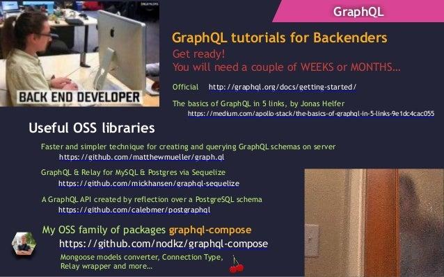 React, GraphQL и Relay - вполне себе нормальный компонентный подход (…