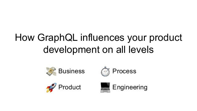How GraphQL influences your product development on all levels Business Process Product Engineering
