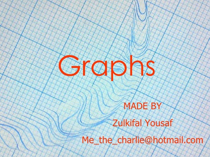 Graphs MADE BY Zulkifal Yousaf [email_address]