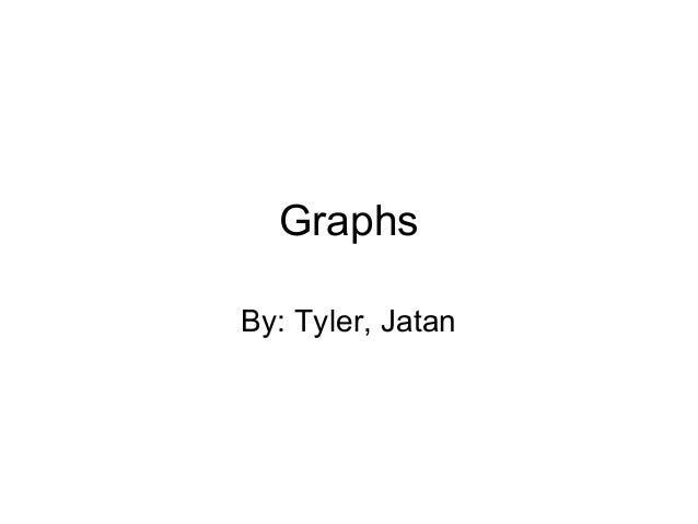 Graphs By: Tyler, Jatan