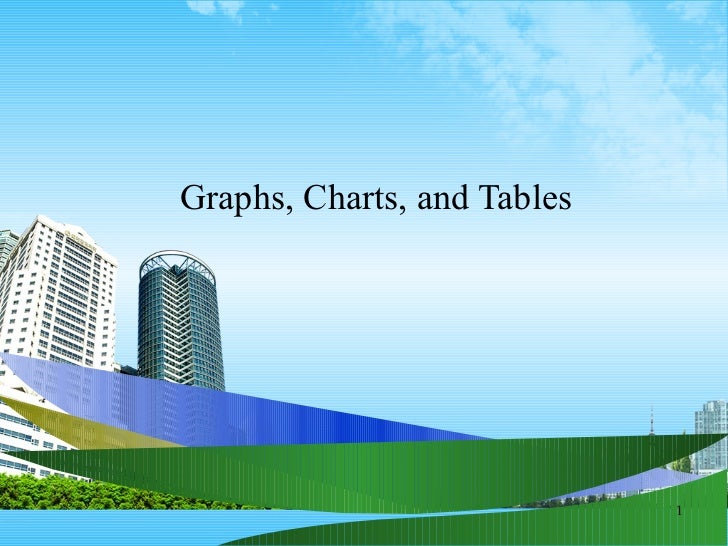 Graphs, Charts, and Tables