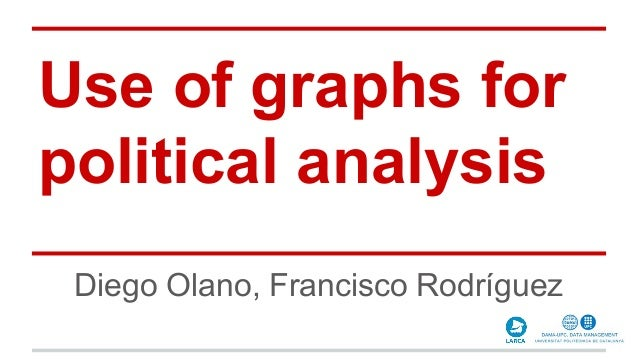 Use of graphs for political analysis Diego Olano, Francisco Rodríguez
