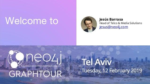 Welcome to Jesús Barrasa Head of Telco & Media Solutions jesus@neo4j.com