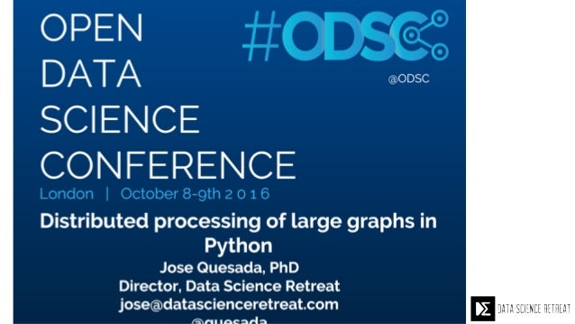 Jose Quesada Director, Data Science Retreat jose@datascienceretreat.com @quesada