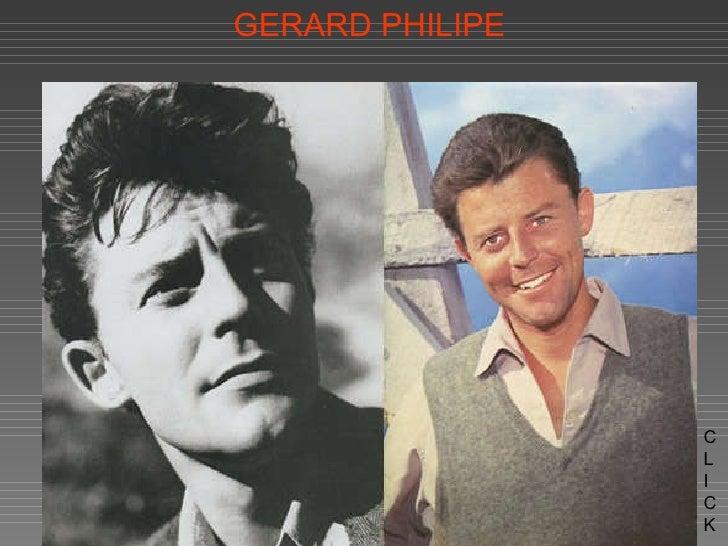 GERARD PHILIPE C L I CK