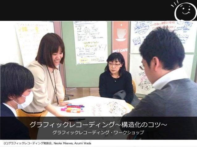 グラフィックレコーディング〜構造化のコツ〜 グラフィックレコーディング・ワークショップ (C)グラフィックレコーディング勉強会, Naoka Misawa, Azumi Wada