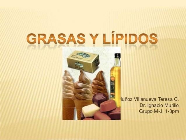 Muñoz Villanueva Teresa C. Dr. Ignacio Murillo Grupo M-J 1-3pm