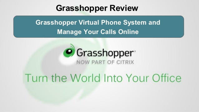 Grasshopper Virtual Phone System and Manage Your Calls Online Grasshopper Review