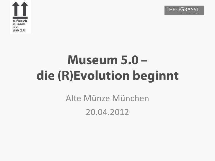 Alte Münze München     20.04.2012