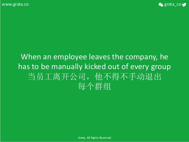 When  an  employee  leaves  the  company,  he   has  to  be  manually  kicked  out  of  every...