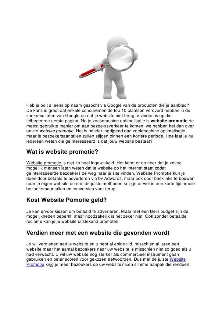 Heb je ooit al eens op naam gezocht via Google van de producten die je aanbied?De kans is groot dat enkele concurenten de ...