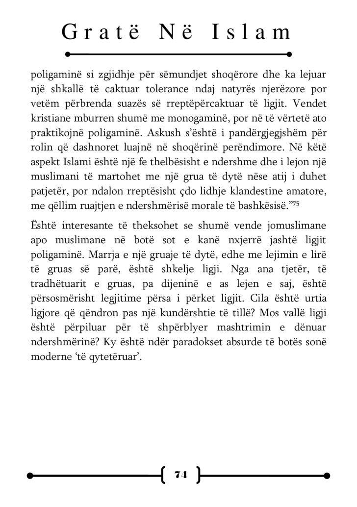 Gratë Në Islam Kundrejt Grave Në TraditëN Judeo Kristianemiti & Realiteti  Albanian