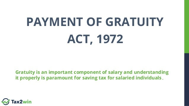 All You Need to Know About Payment of Gratuity Act 1972