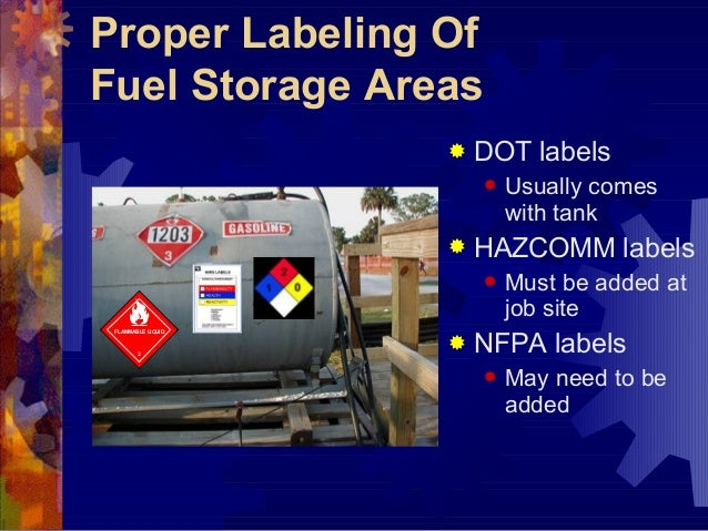 Proper Storage Of Flammable Liquids Page 4 Usda Ars Pub
