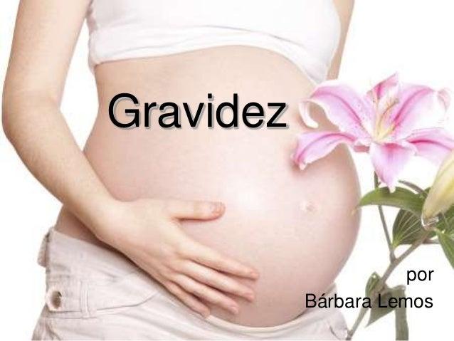Gravidez por Bárbara Lemos