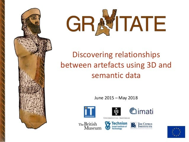 Discovering relationships between artefacts using 3D and semantic data June 2015 – May 2018