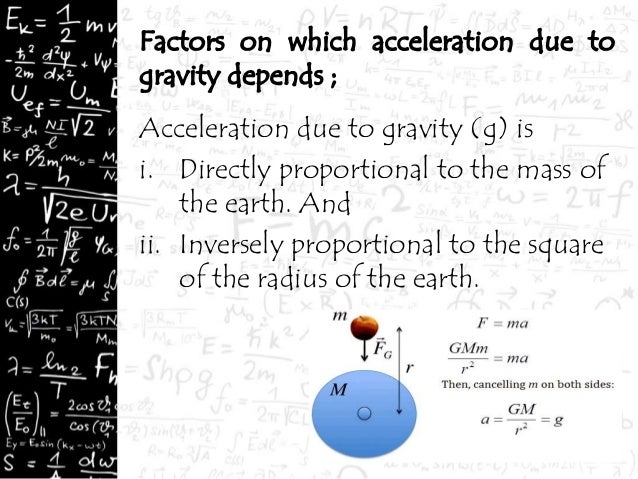 class 9 gravitation Notes , class 9, physics, cbse-gravitation  universal law of gravitation: every object in the universe attracts every other object with a force which is proportional to.
