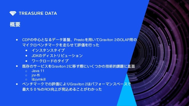 Graviton 2で実現するコスト効率のよいCDP基盤 Slide 3