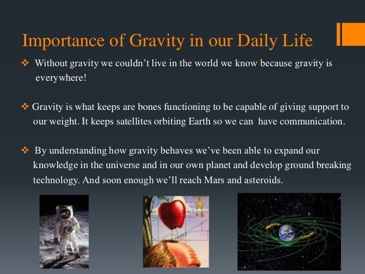 Gravity for Uses of soil in daily life