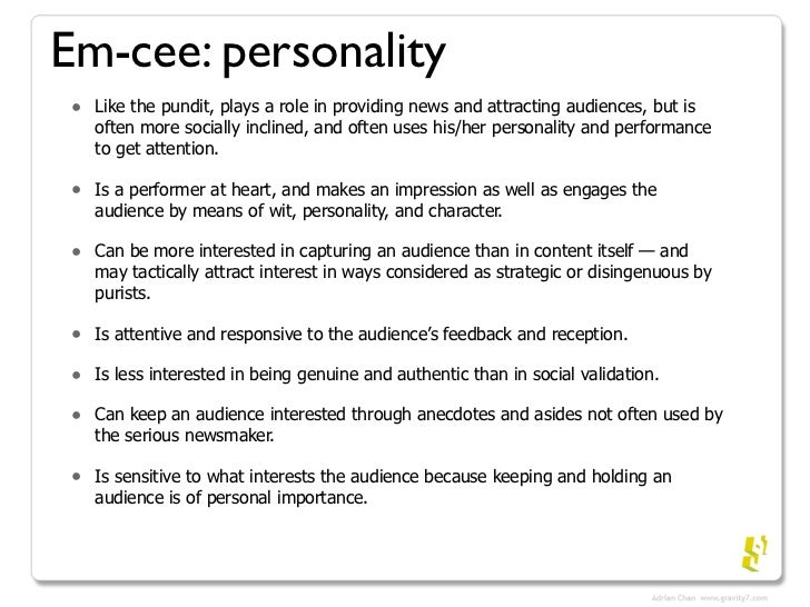 social media personality types 21