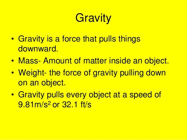 Gravity slideshare Slide 2