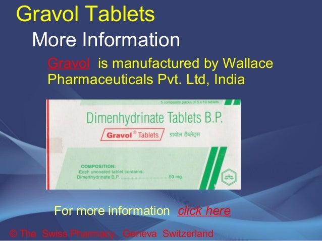 Gravol Dimenhydrinate Side Effects