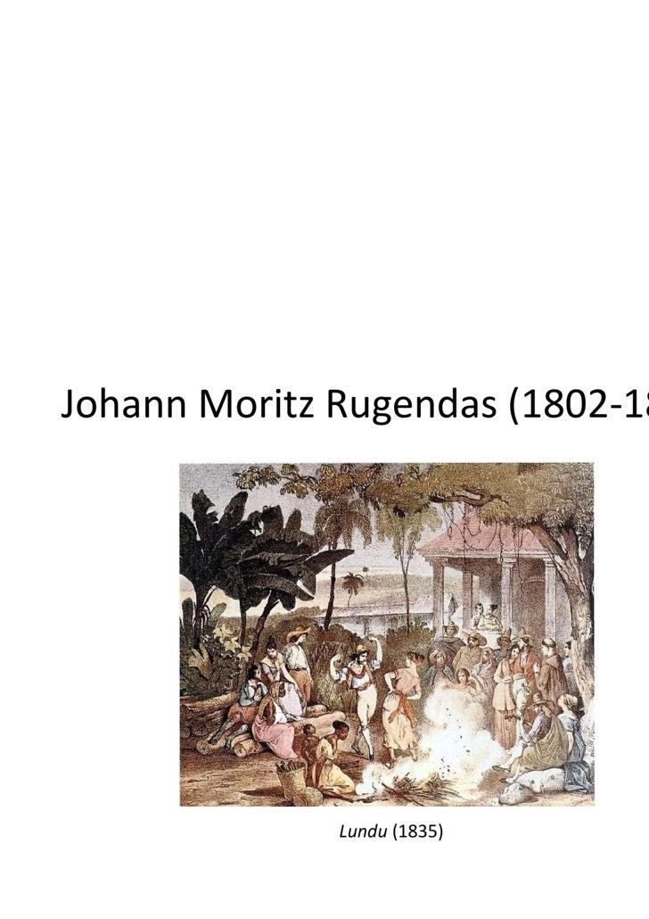 Johann Moritz Rugendas (1802-1858) Lundu  (1835)
