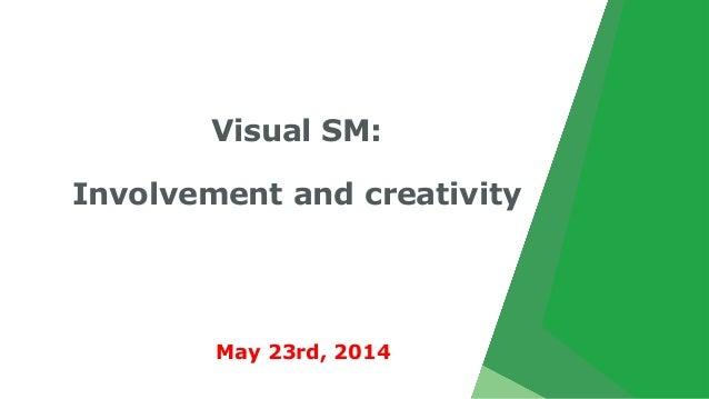 Visual SM: Involvement and creativity May 23rd, 2014