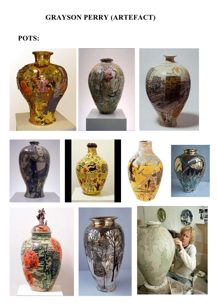 32 Grayson Perry Research