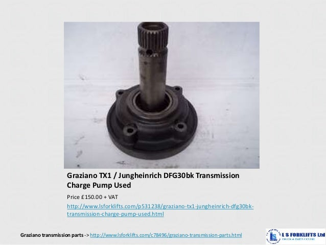 Forklift Transmission Parts : Graziano forklift transmission parts from ls forklifts ltd