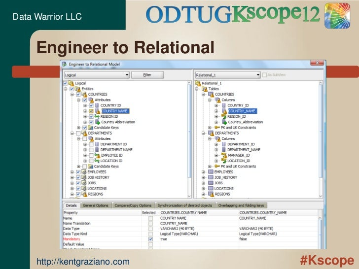 Reverse Engineering an Existing Database Using Oracle SQL Developer D…