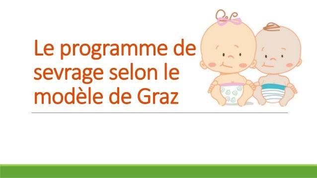 Le programme de sevrage selon le modèle de Graz