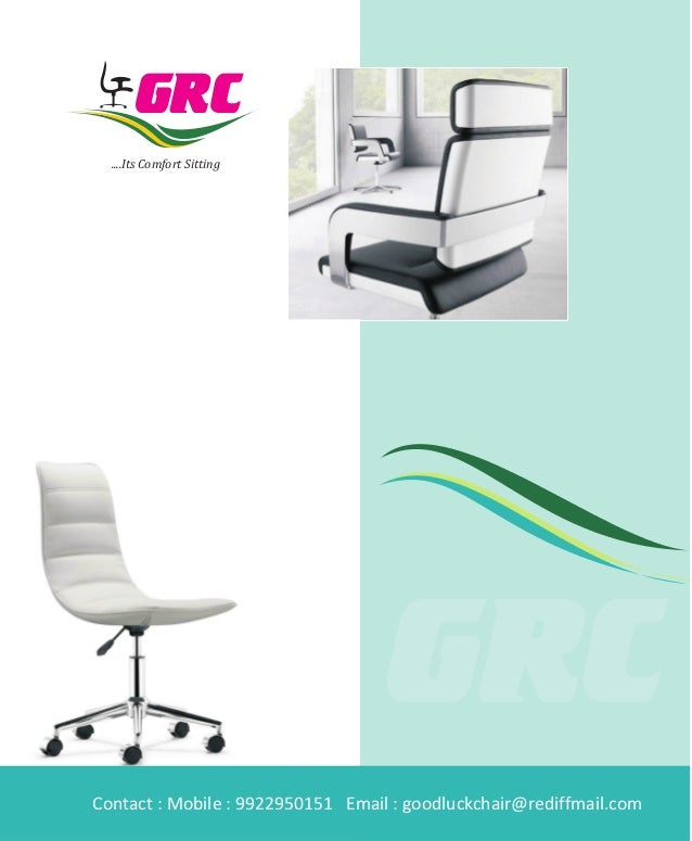 Office chairs manufacturers - chair brochure