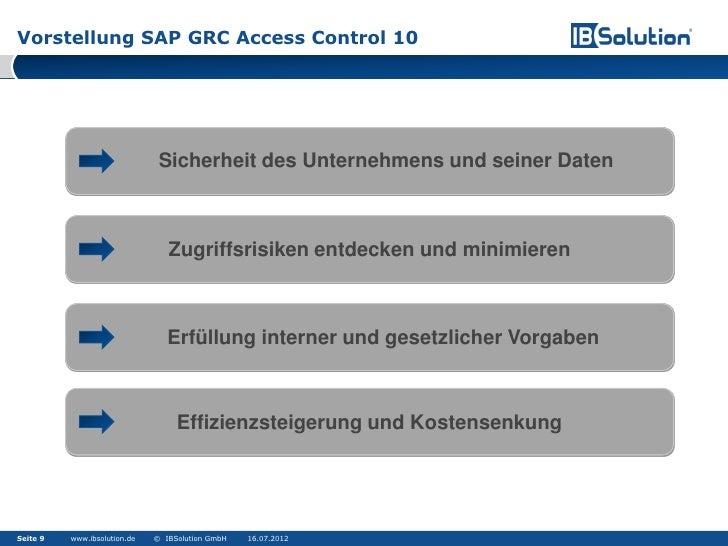 sap grc entry deal with condition study