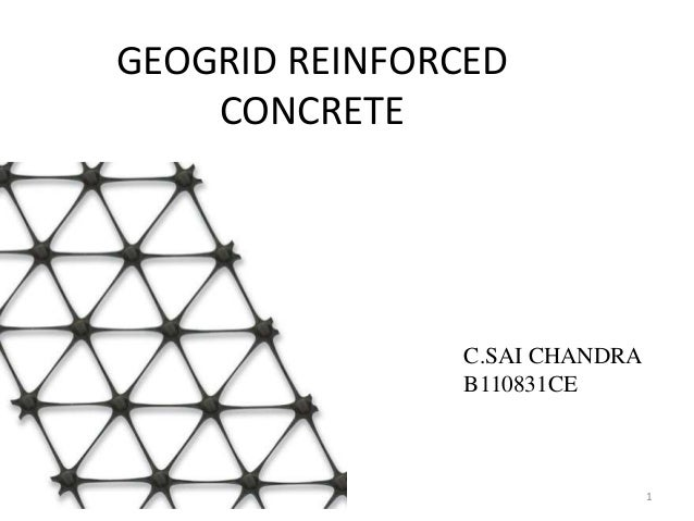 GEOGRIDS IN CONCRETE