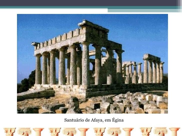 Santuário de Afaya, em Égina