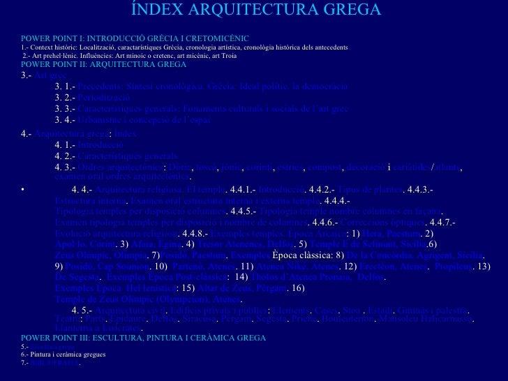 GRÈCIA ARQUITECTURA Slide 2