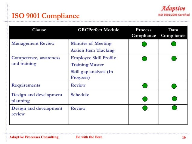 GRCPerfect - Enterprise Project Governance, Risk and Compliance Manag…