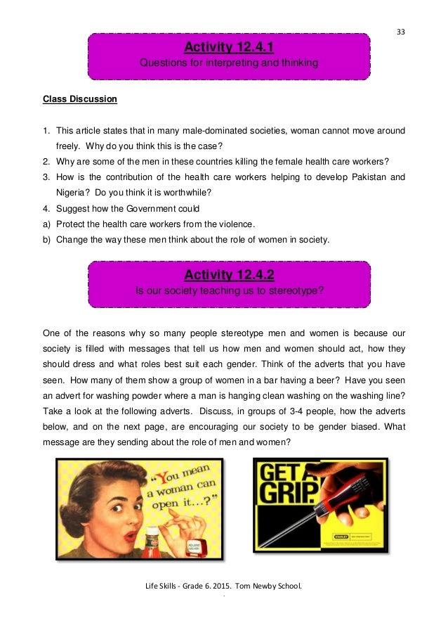 tom newby school grade 6 homework