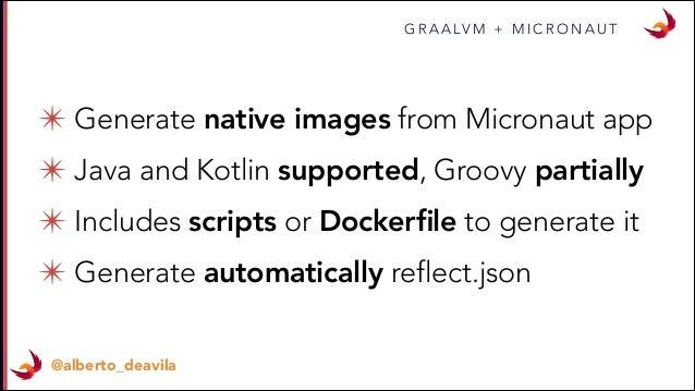 Graalvm with Groovy and Kotlin - Greach 2019