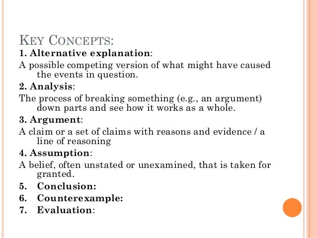 The Argument Task — Directions, Example Prompt, the Seven Possible Directives