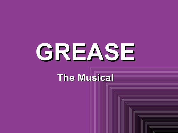 GREASE The Musical Callum May Jamie Rekkas Alexander Lee