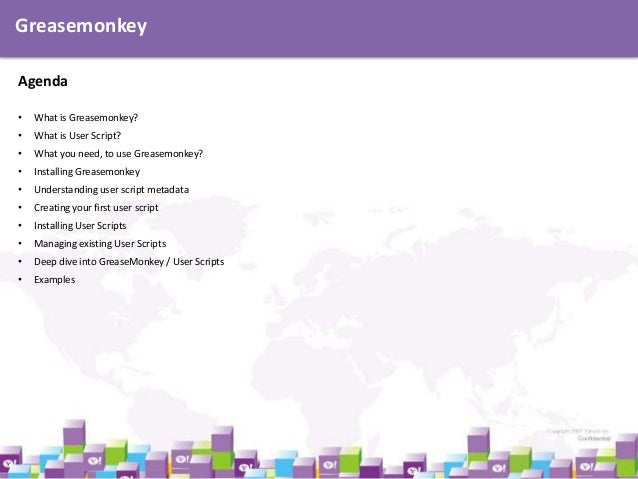 Introduction to Greasemonkey Slide 2