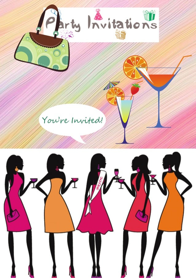 great bachelorette party invitations o o _ 2 rt invttattoiig