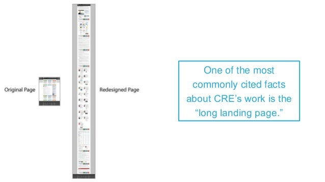 In fact, we've changed our landing pages numerous times to shorter versions and seen equal success. Length, it would seem,...
