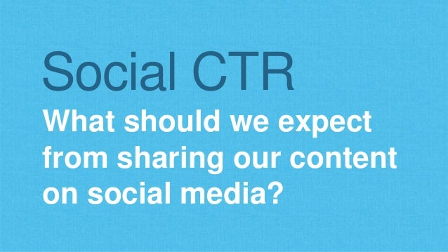 Via Signup.to's Analysis of CTR on Twitter