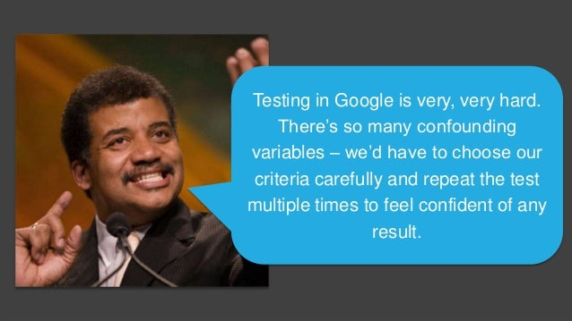 Does it influence Google's non- personalized search rankings? Google+