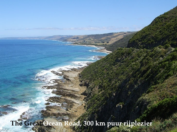 The   Great  Ocean Road, 300 km puur rijplezier