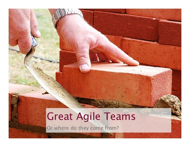 Great Agile Teams Or where do they come from? agile42 | We advise, train and coach companies building software  www.agile4...
